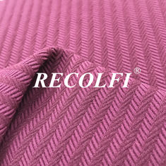Sun Resistant Nylon 190GSM Lycra Fabric Ribbed Swimwear